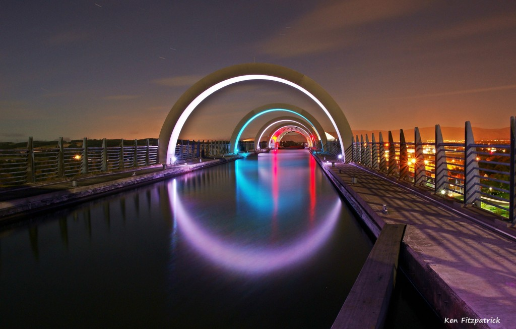 Falkirk Wheel by Ken Fitzpatrick