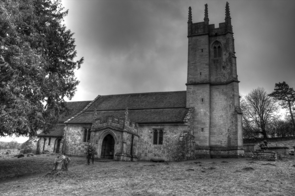 Imber Church by Hobble